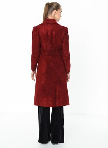 Dewberry Uzun Palto Kırmızı